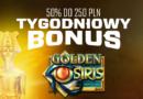 Tygodniowy Bonus na Golden Osiris w EnergyCasino