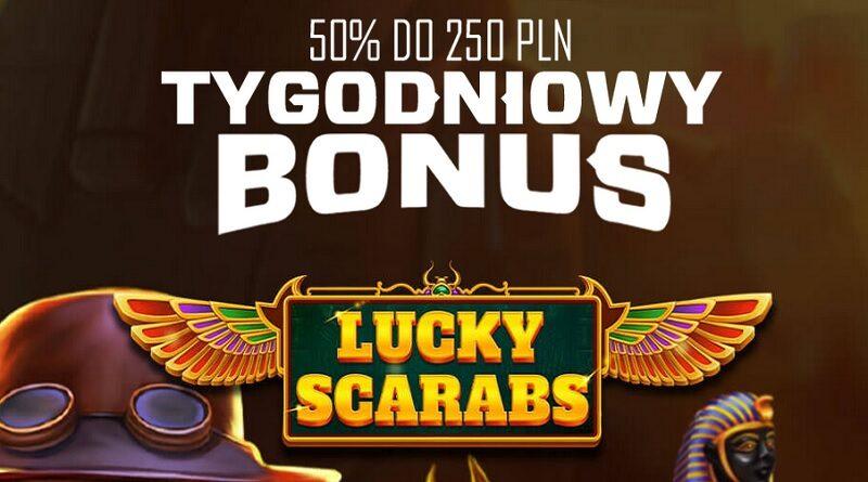 Odbierz bonus w Lucky Scarabs w EnergyCasino