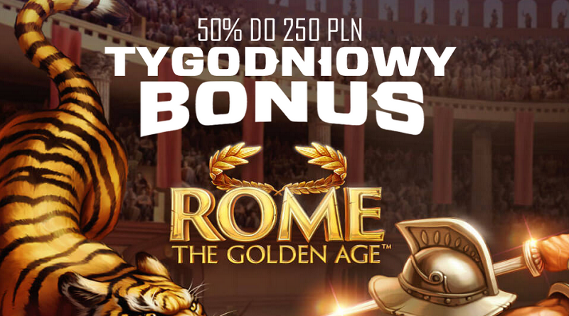 50% Reload Bonus do 250 zł