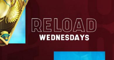 Twój tygodniowy 50% Reload Bonus.