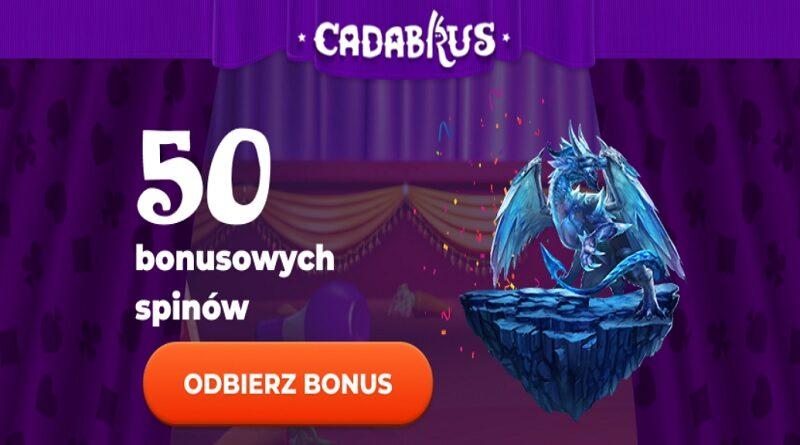 50 magicznych spinów czeka w Cadabrus!