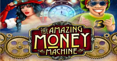 Wypróbuj Amazing Money Machine z Darmowymi Spinami od Boba