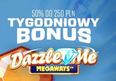 Tygodniowy Bonus: Dazzle Me Megaways
